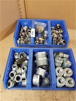 Assorted conduit bushings and reducers.