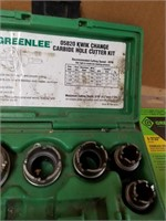 GREENLEE Stainless steel carbide hole saw cutter
