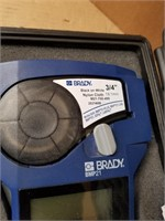 BRADY BMP 21 Label Marker in case.
