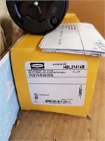 Box lot of various unistrut hardware, twist lock