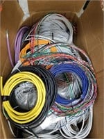 Box lot of assorted wire cuts.