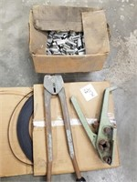 Metal strapping for packaging, band clamps,