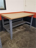 Adjustable Height sturdy work bench. Measurements