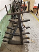 Sturdy Heavy Metal Rack with a few lengths of