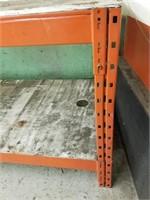 Heavy Metal Work Bench/Shelving. Measurements on
