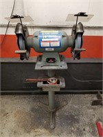 """KING CANADA  10"""" Bench Grinder on stand. 22"""" x"""