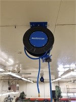 Mastercraft Air Hose Reel With Hose. Mount To