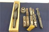 Very Large Drill Bits. Largest one measures
