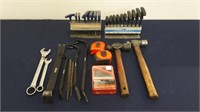 Hex Key Sets With T Handles, Tape Measures, Pry