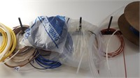 Assorted Air Tubing,  Hoses, plastic, rubber,