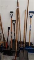 Brooms, Shovels, & Snow Shovels etc.