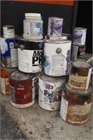 Painters Lot, Opened Cans