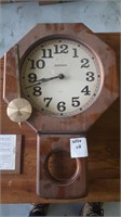 Wooden Tv Stand And Rensie Clock