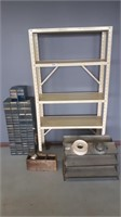 Light Metal Shelf, Wall Shelving, Small Hardware