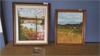 2 Scenery Paintings