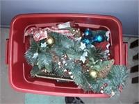 Christmas  Items With Bin
