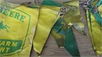 John Deere Farm Equipment Cloth Sign With