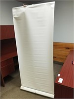 """Roll Up Advertising Screen 7ft x 34"""""""