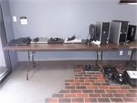 2 Wood Tables- NO CONTENTS