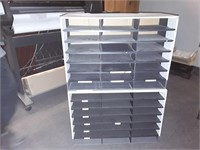 2 Office Shelves And Quantity Of Office Trays