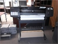 Hp Designjet 1050c Printer