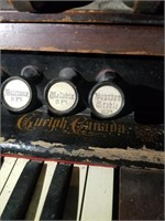 Antique Pump Organ-W. BELLE & CO. Guelph Canada.