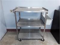 3 Tier Metal Rolling Cart