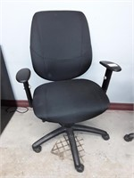 4 Rolling Fabric Office Chairs