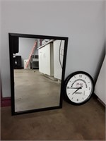 2 Mirrors And Battery Operated Clock