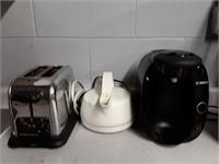 Hamilton Beach Toaster, Kettle, Bosch Coffee