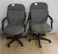 2 Rolling Office Chairs