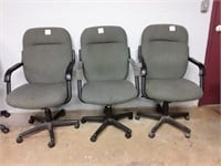 3 Rolling Office Chairs