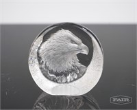 Crystal/Glass Pig, Bird and Eagle Lot