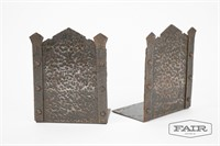 Metal Bookends, Weight and Envelope Holder