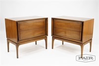 Pair of Red Lion Table Co Nightstands