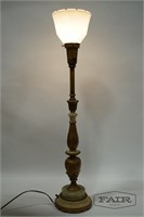 Ornate Torchiere Lamp