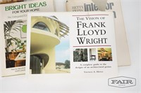 Lot of Home Decor and Architectural Texts