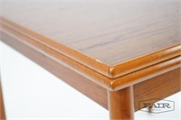 Danish Dining Table with Integrated Leaves