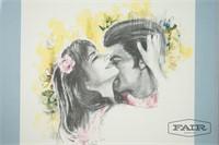 Framed Print of Couple
