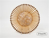Small Triner Scale and Woven Bowl