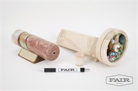 Pair of Stone Kaleidoscopes