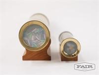 Pair of Metal Kaleidoscopes