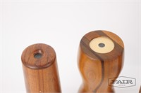 Lot of 3 Wooden Kaleidoscopes