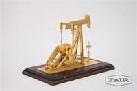 Small Enesco Model of Oil Drill