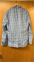 Zachary Prell Size 40 Sports Jacket Laxus LT Blue