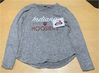Ladies Size Medium IU Hoosiers Soft Knit Sweater