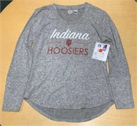 Ladies Size Large IU Hoosiers Soft Knit Sweater