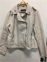 GUESS WOMEN'S LEATHER JACKET XL