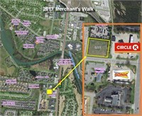 2617 Merchants Walk - Live Auction!  Commercial Lot