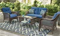HOMETRENDS TUSCANY 4 PIECE CONVERSATION SET